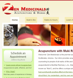 Recent work screenshot- Zen Medicinals
